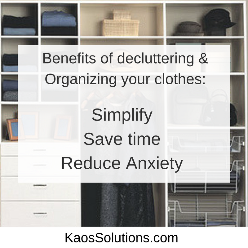 Benefits of decluttering your clothes 2