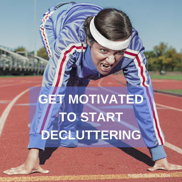 Getting Motivated to Start Decluttering