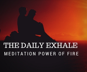 Meditation power of flames