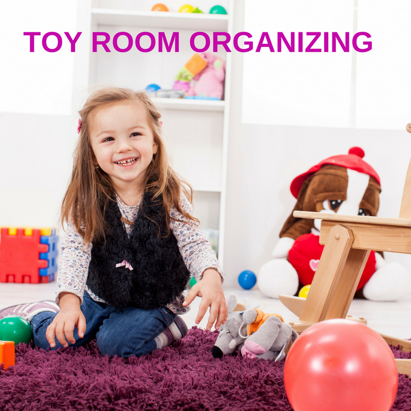 Toy Room Organizing