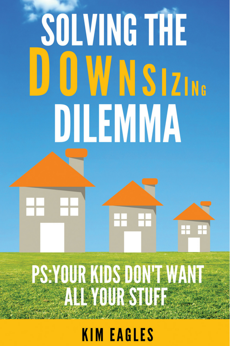solving the downsizing dilemma pinterest cover